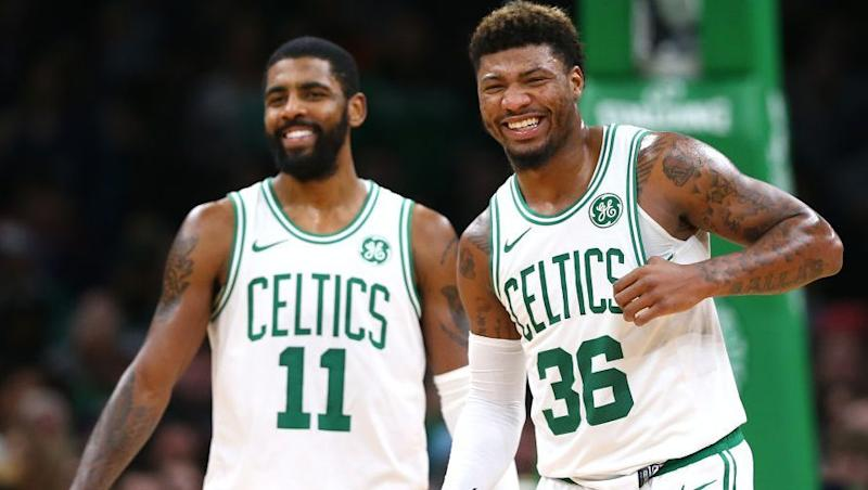 super popular 13891 19960 Marcus Smart on Celtics   We re just not together.  Kyrie Irving   That s  Marcus  opinion