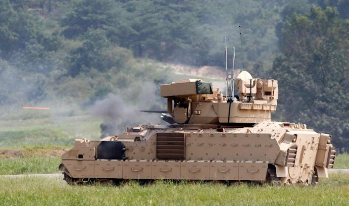 The Army's New Combat Infantry Vehicle has Gone Digital