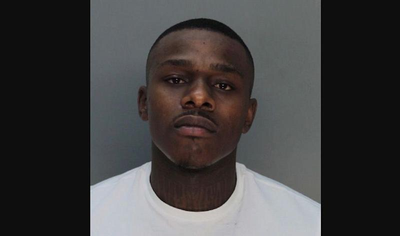 DaBaby arrested for battery after allegedly dousing concert promoter with apple juice