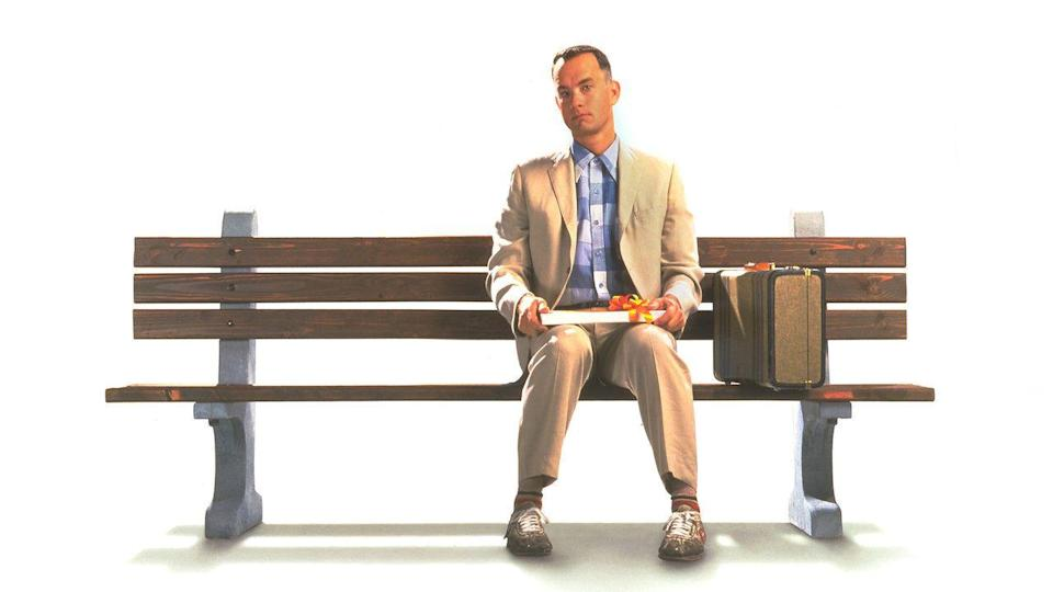 "<p>...is not what Forrest Gump (played by the amazing Tom Hanks) <a href=""https://www.youtube.com/watch?v=CJh59vZ8ccc"" rel=""nofollow noopener"" target=""_blank"" data-ylk=""slk:actually said"" class=""link rapid-noclick-resp"">actually said</a>. If you listen closely he says, ""Life <em>was</em> like a box of chocolates."" We're regretting all of those Instagram captions right about now...</p>"