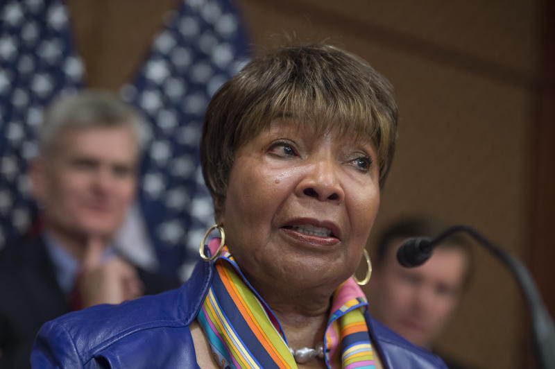 Rep. Eddie Bernice Johnson (D-Texas) is the new chair of the House Committee on Science, Space, and Technology. (Tom Williams via Getty Images)
