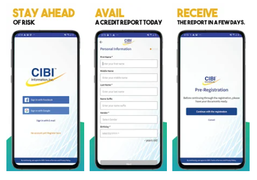 how to get credit report philippines - cibiapp