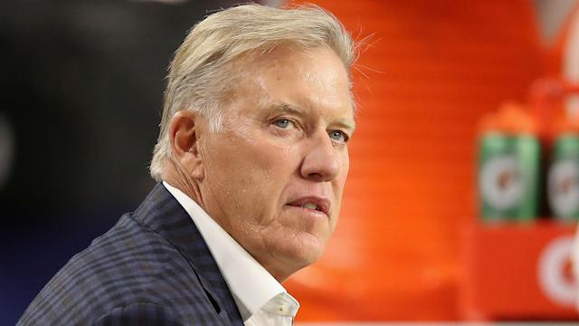 """""""We're trying to win football games,"""" John Elway said in response to trade speculation over a number of the Denver Broncos' stars."""