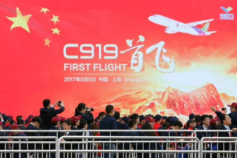 The maiden flight of China's first home-grown passenger jet marked a key milestone for the country's ambitions to compete with the world's leading aircraft makers