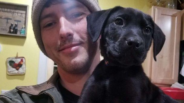 PHOTO: Nick Abbott, 31, of Maine, was born deaf and adopted a dog named Emerson, who is also deaf. (Courtesy Richelle and Nick Abbott )