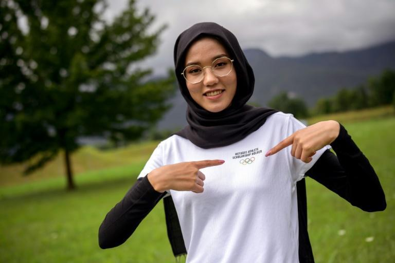 Masomah Ali Zada will compete at the 2020 Games for the Olympic Refugee Team