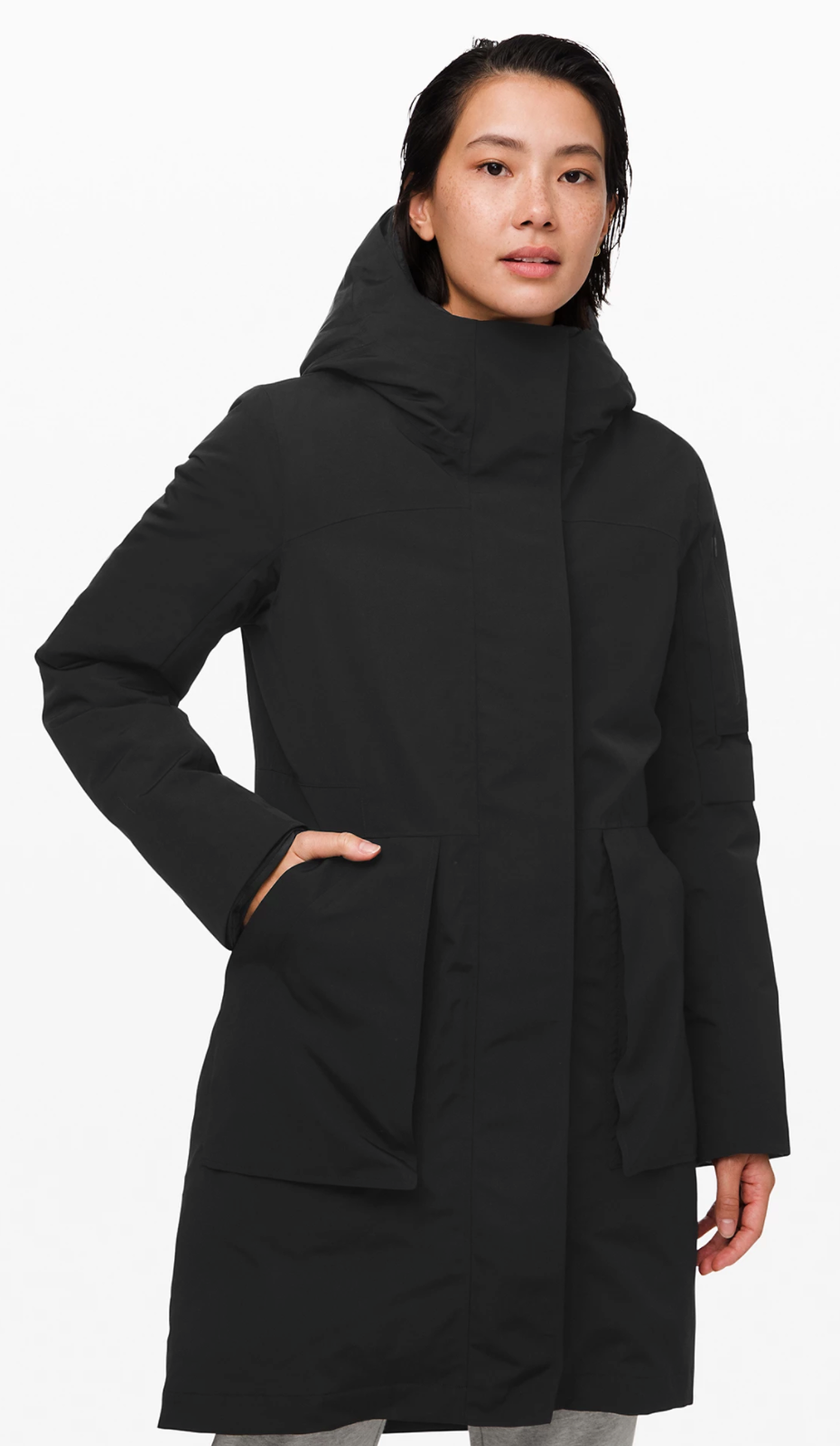 Winter Warrior 3-in-1 Parka in Black (Photo via Lululemon Athletica)
