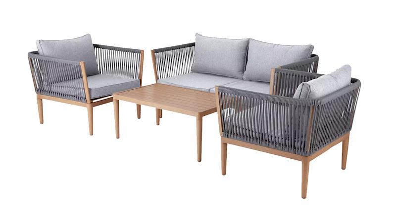 Pascal 4 Seater Sofa Set