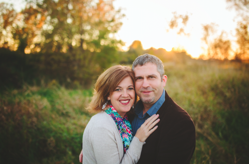 The couple has been together for 25 years.  (Danielle Kruse of Polkadot Umbrella Photograpy)