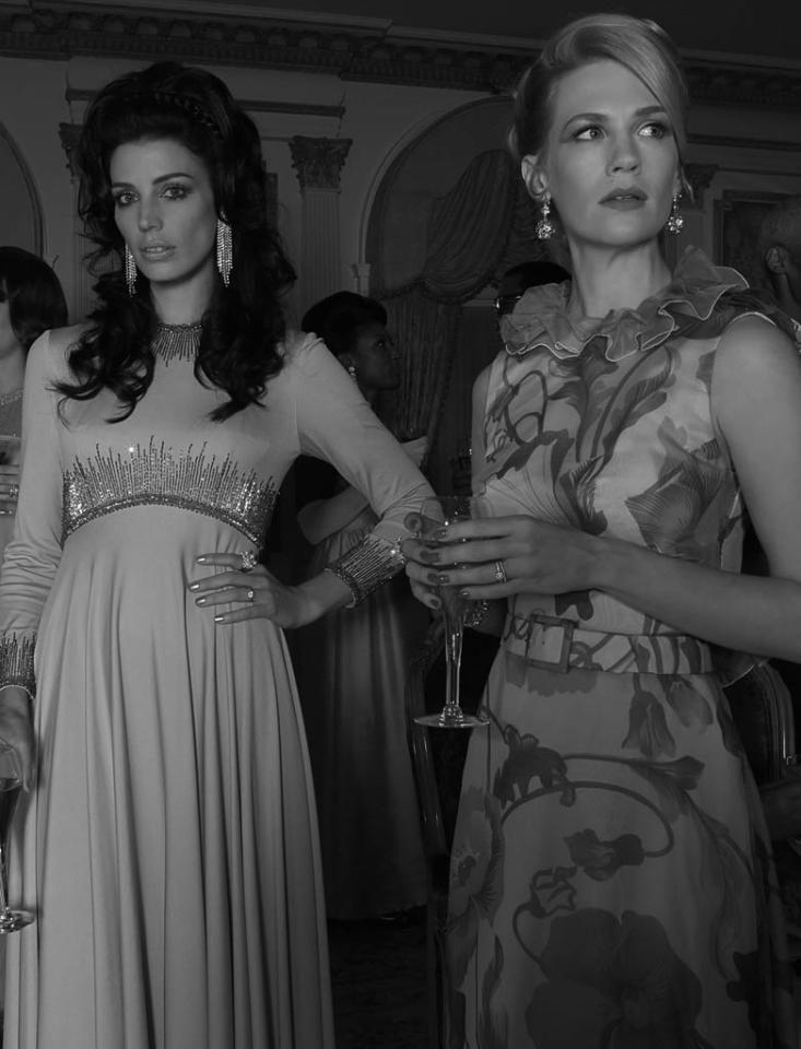 Megan Draper (Jessica Pare) and Betty Francis (January Jones) - Mad Men - Season 6
