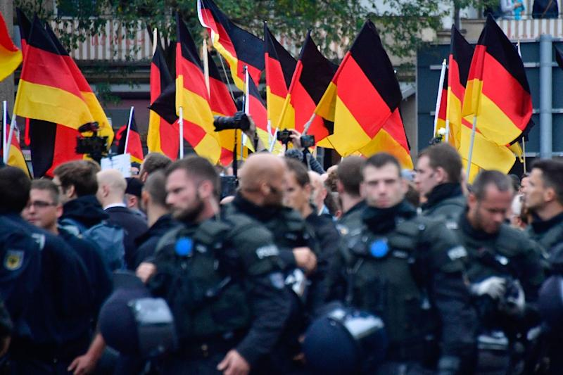 Recently, right-wing extremists have rallied over a knife attack in the eastern city of Chemnitz