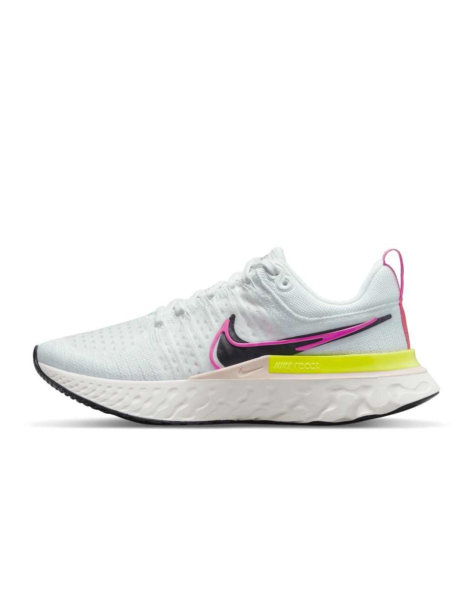 """<p><strong>nike</strong></p><p>nike.com</p><p><strong>$160.00</strong></p><p><a href=""""https://go.redirectingat.com?id=74968X1596630&url=https%3A%2F%2Fwww.nike.com%2Ft%2Freact-infinity-run-flyknit-2-womens-running-shoes-rfh6Z8&sref=https%3A%2F%2Fwww.bestproducts.com%2Ffitness%2Fequipment%2Fg362%2Fhealth-and-fitness-gift-ideas%2F"""" rel=""""nofollow noopener"""" target=""""_blank"""" data-ylk=""""slk:Shop Now"""" class=""""link rapid-noclick-resp"""">Shop Now</a></p><p>The React Infinity Run Flyknit from Nike is designed specifically to help reduce injury. Whether someone's a regular runner looking for more cushioning on easy runs or a new runner who prefers the additional support, the Infinity Run will keep them running stronger longer. </p>"""