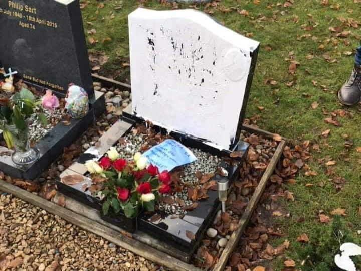 A woman has been jailed after vandalising the grave of a young diabetic man and leaving cruel notes to family members (Family handout/SWNS)