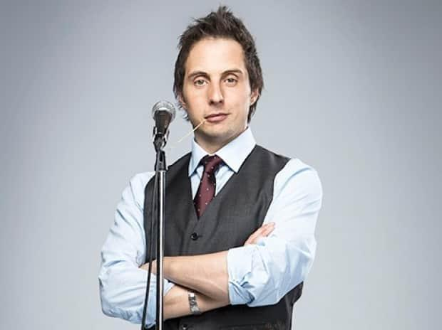Jonny Harris, host of CBC's Still Standing, says the show makes for perfect pandemic viewing because it allows homebound audiences to learn about new places while also providing laughs. (CBC - image credit)