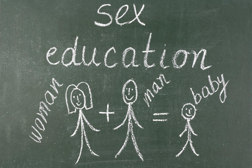 Is 7/8 too young to be taught about sex education? [Photo: Getty]