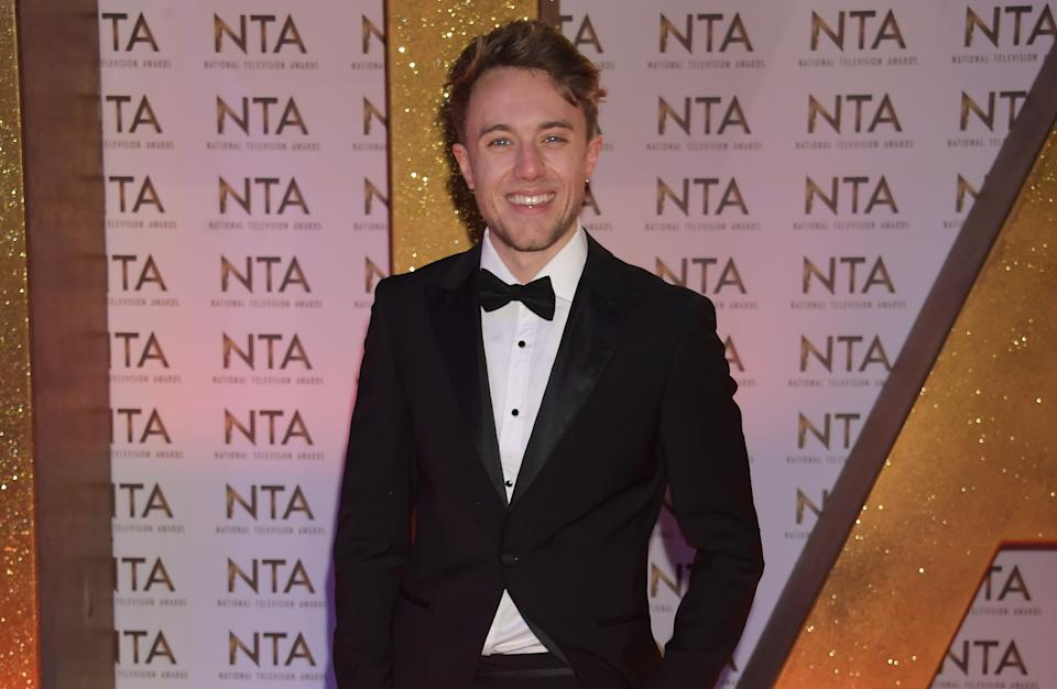 LONDON, ENGLAND - JANUARY 28:  Roman Kemp attends the National Television Awards 2020 at The O2 Arena on January 28, 2020 in London, England. (Photo by David M. Benett/Dave Benett/Getty Images)