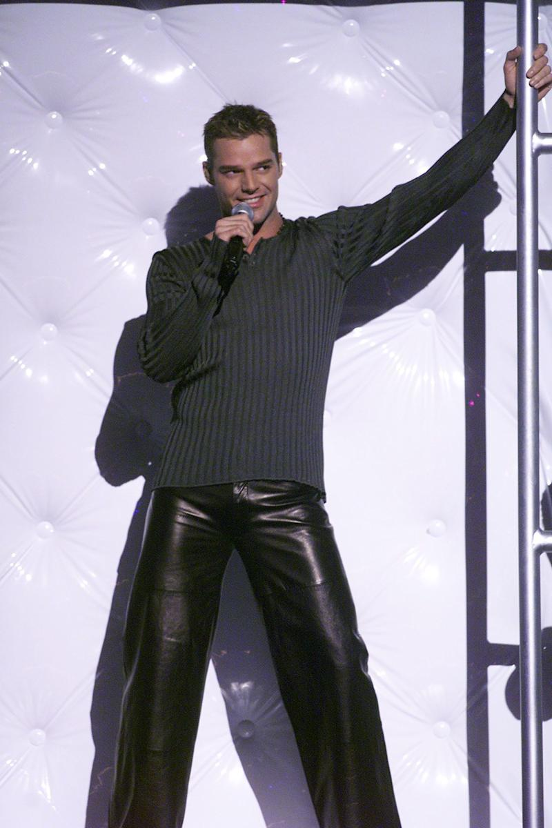 Ricky Martin during his memorable performance at the 1999 Grammy Awards.