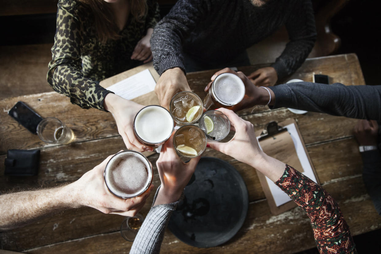 You can now meet friends inside a pub. (Getty Images)