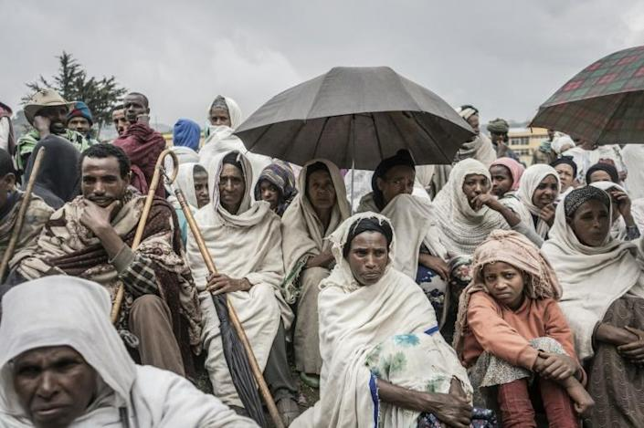 The conflict in Tigray has unleashed a major humanitarian crisis (AFP/Amanuel Sileshi)