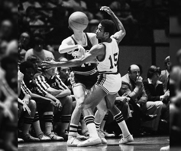 Reggie Warford is the second Black player Adolph Rupp signed at Kentucky. (AP)