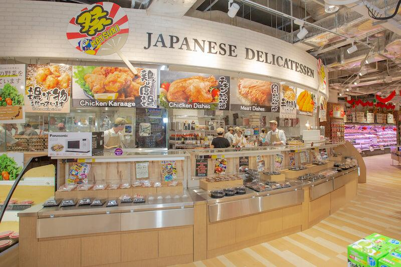 The store's largest delicatessen in Singapore. Photo: Don Don Donki