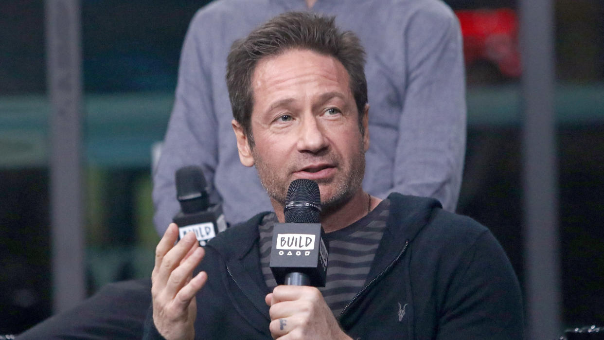 David Duchovny says the Church of Scientology tried to recruit him. (Jim Spellman/Getty Images)