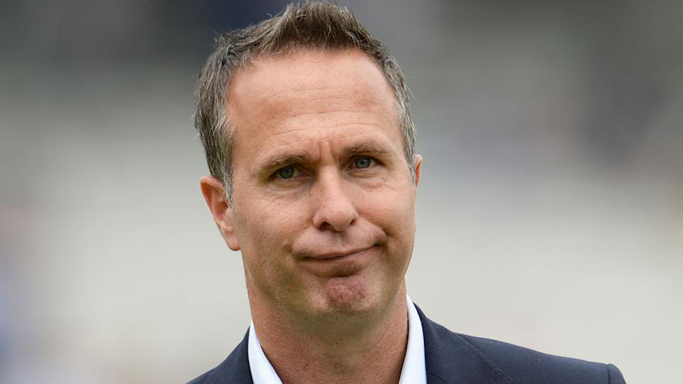 Former England cricket captain Michael Vaughan is seen in this photo.