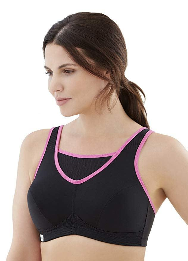 <p>If you have a large bust and bounce is something you're concerned about, consider this <span>Glamorise Full-Figure No-Bounce Wire-Free Back-Close Sports Bra</span> ($29). The extra layer on top offers support and coverage. Plus, it's available in sizes C to G.</p>