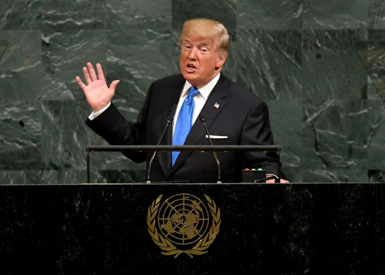 """Trump used his debut address 12 months ago to threaten to """"totally destroy"""" North Korea and belittled its leader as """"rocket man,"""" prompting Kim to respond by calling the US president """"mentally deranged"""""""