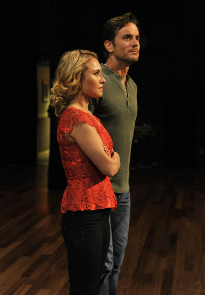 "Hayden Panettiere and Charles Esten in the ""Nashville"" episode, ""Lovesick Blues."""