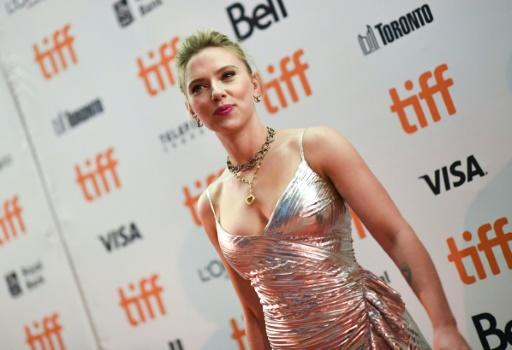 "Actress Scarlett Johansson -- the world's top-paid actress -- came on board ""Jojo Rabbit"" as the young boy's goofy but idealistic mother"
