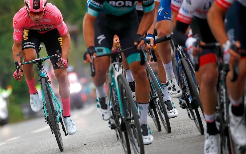 Primoz Roglic kept himself out of trouble on Tuesday and, in fact, extended his overall lead - AFP or licensors