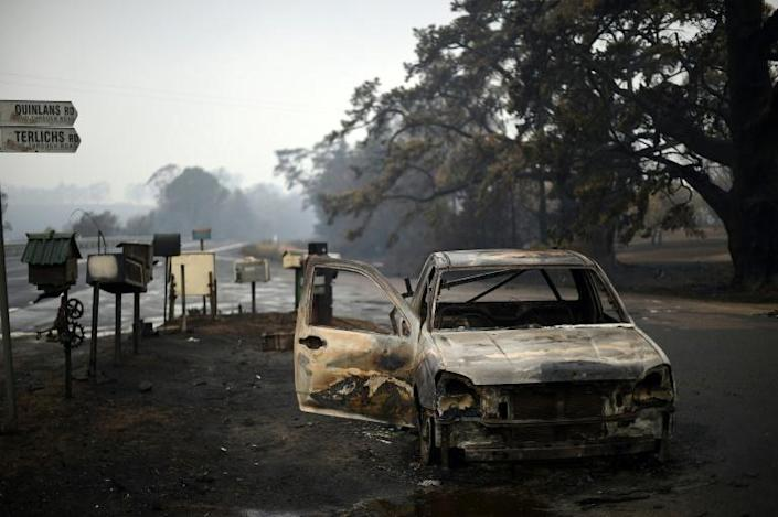 The fires have claimed 28 lives and killed an estimated billion animals (AFP Photo/SAEED KHAN)
