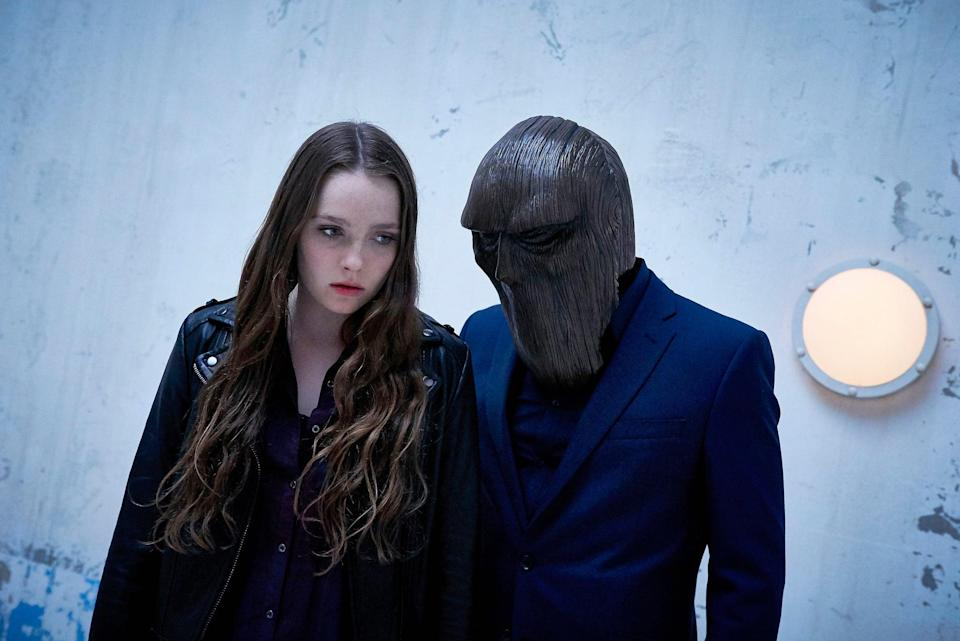 "<p><strong>Channel Zero</strong> is <strong><a class=""link rapid-noclick-resp"" href=""https://www.popsugar.com/American-Horror-Story"" rel=""nofollow noopener"" target=""_blank"" data-ylk=""slk:American Horror Story"">American Horror Story</a></strong>'s cool young cousin. Though it's been canceled, there are four installments to dive into: <strong>Candle Cove</strong>, <strong>No-End House</strong>, <strong>Butcher's Block</strong>, and <strong>The Dream Door</strong>. While <strong>AHS</strong> is bombastic, <strong>Channel Zero</strong> is quietly spooky; it feels more like a nightmare slowly creeping up on you.</p> <p><strong>Scare factor:</strong> 😱 😱 😱 😱</p>"