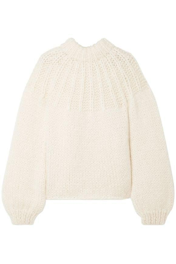"If you're bummed about having to wear knits again (same), this sweater will help ease the pain: The balloon sleeves make a statement, while the oversized fit makes it extra cozy. It's hard to get mad. $389, The Outnet. <a href=""https://www.theoutnet.com/en-us/shop/product/heavy-knit_cod3207868845062.html?cm_mmc=ProductSearchPLA-_-US-_-Clothing-_-Knitwear-Google&gclid=CjwKCAjw1rnqBRAAEiwAr29II7moReEH6n5b5RDOp6daZwO3pTmMDecqdffFa8N9NMCErJD0b9aVCBoCLUEQAvD_BwE&gclsrc=aw.ds&tp=146770"">Get it now!</a>"
