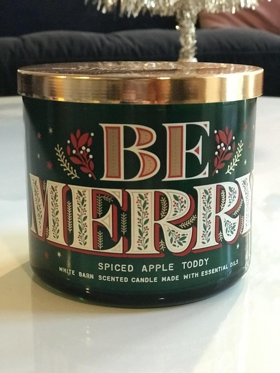 <p><span>Spiced Apple Toddy 3-Wick Candle</span> ($15, originally $25)</p> <p><strong>What It Smells Like:</strong> Sipping on the tastiest hot spiced cocktail while wrapped up in a blanket.</p>