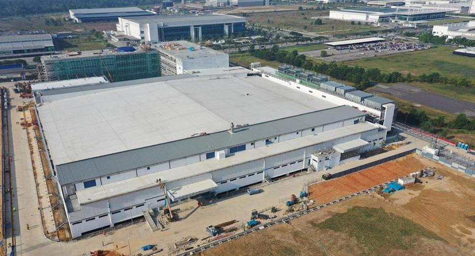 The RM1 billion Lam Manufacturing Malaysia plant in Batu Kawan. ― Picture Courtesy of Lam Research Corporation
