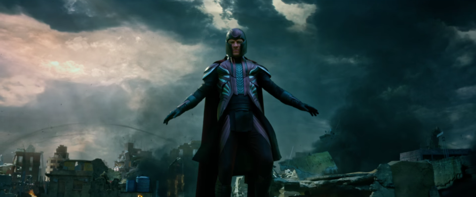 Magneto in X-Men: Apocalypse (credit: 20th Century Fox)