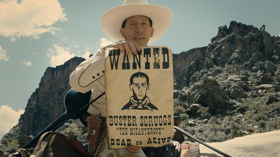 A still from Netflix's The Ballad of Buster Scruggs