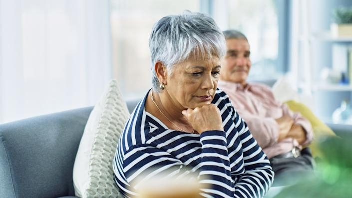 Experts say there has been a rise in later life divorces.  (Getty Images)