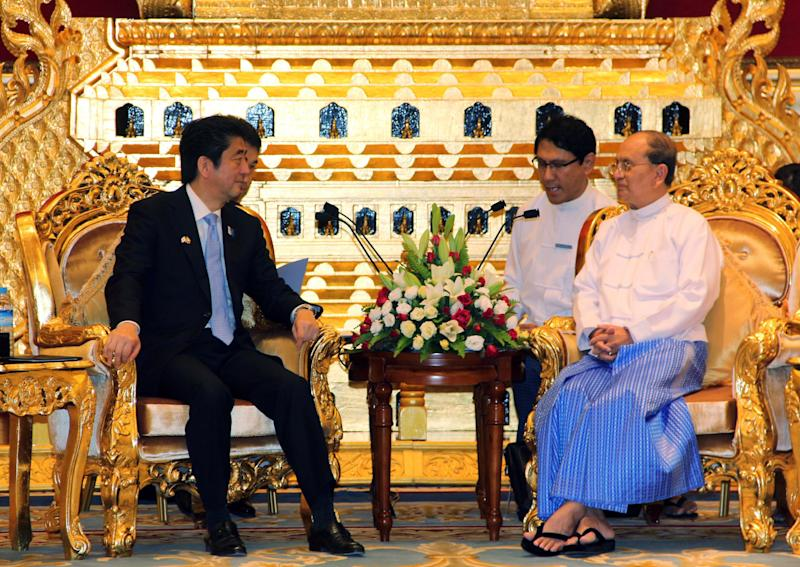 Japan gives Myanmar $504M loan, forgives debt