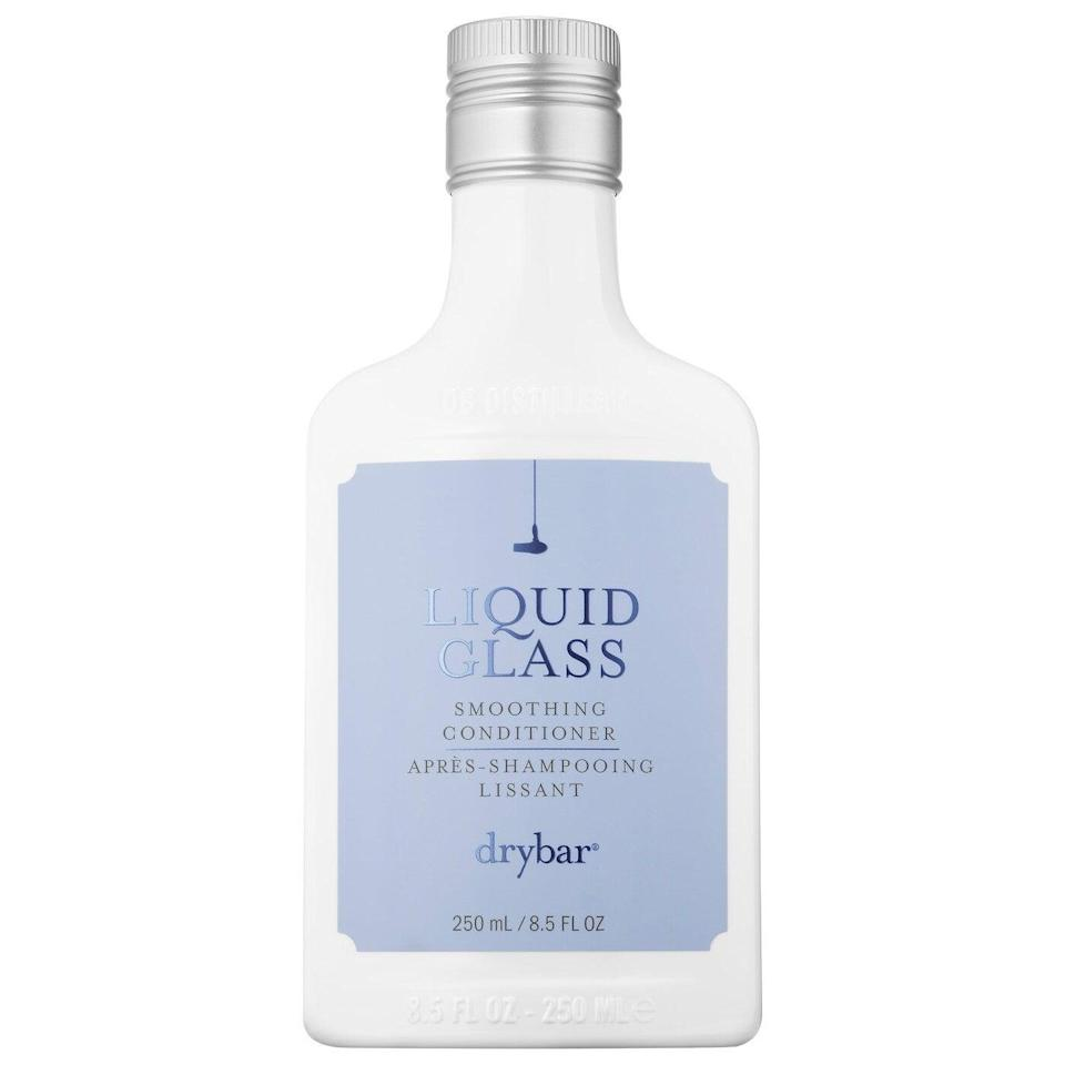 """<h2>Best For Color-Treated Hair<br></h2><br><h3>Drybar Liquid Glass Smoothing Conditioner<br></h3><br>Can't make it to an in-salon blowout? Drybar's frizz-taming conditioner delivers smoothing, shine-boosting benefits fresh out of the shower. <br><br><strong>What They're Saying:</strong> """"I'm naturally a dark blonde but I get highlights. The drawback is that my hair has lost some of that glossy shine. Liquid Glass conditioner gives me back that shine without weighing my hair down. My blowout now lasts longer without looking greasy.""""<br><br><strong>DryBar</strong> Liquid Glass Smoothing Conditioner, $, available at <a href=""""https://go.skimresources.com/?id=30283X879131&url=https%3A%2F%2Fwww.sephora.com%2Fproduct%2Fdrybar-liquid-glass-smoothing-conditioner-P454055"""" rel=""""nofollow noopener"""" target=""""_blank"""" data-ylk=""""slk:Sephora"""" class=""""link rapid-noclick-resp"""">Sephora</a>"""
