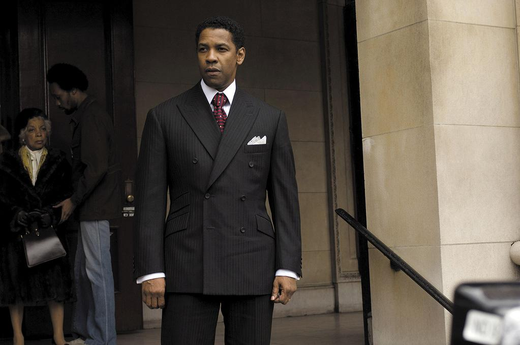 """<a href=""""http://movies.yahoo.com/movie/1809745897/info"""">AMERICAN GANGSTER</a> (2007)   After starring in a number of movies directed by Tony Scott -- """"<a href=""""http://movies.yahoo.com/movie/1800238340/info"""">Crimson Tide</a>,"""" """"<a href=""""http://movies.yahoo.com/movie/1809275011/info"""">Deja Vu</a>,"""" and """"<a href=""""http://movies.yahoo.com/movie/1808467637/info"""">Man on Fire</a>,"""" Denzel starred in this gangster yarn helmed by Scott's brother Ridley. Critics loved the film: it wound up on numerous top ten lists and was ultimately nominated for several Golden Globes, including Best Picture and Best Actor. Denzel's subsequent movie, """"<a href=""""http://movies.yahoo.com/movie/1810003158/info"""">The Taking of Pelham 1 2 3</a>,"""" was again directed by Tony Scott."""