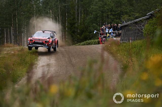 "Sébastien Ogier, Julien Ingrassia, Citroën World Rally Team Citroen C3 WRC <span class=""copyright"">McKlein / LAT Images</span>"
