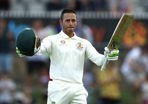 Khawaja saved face by stroking a century in the 2nd innings of the 2nd Test against Sri Lanka