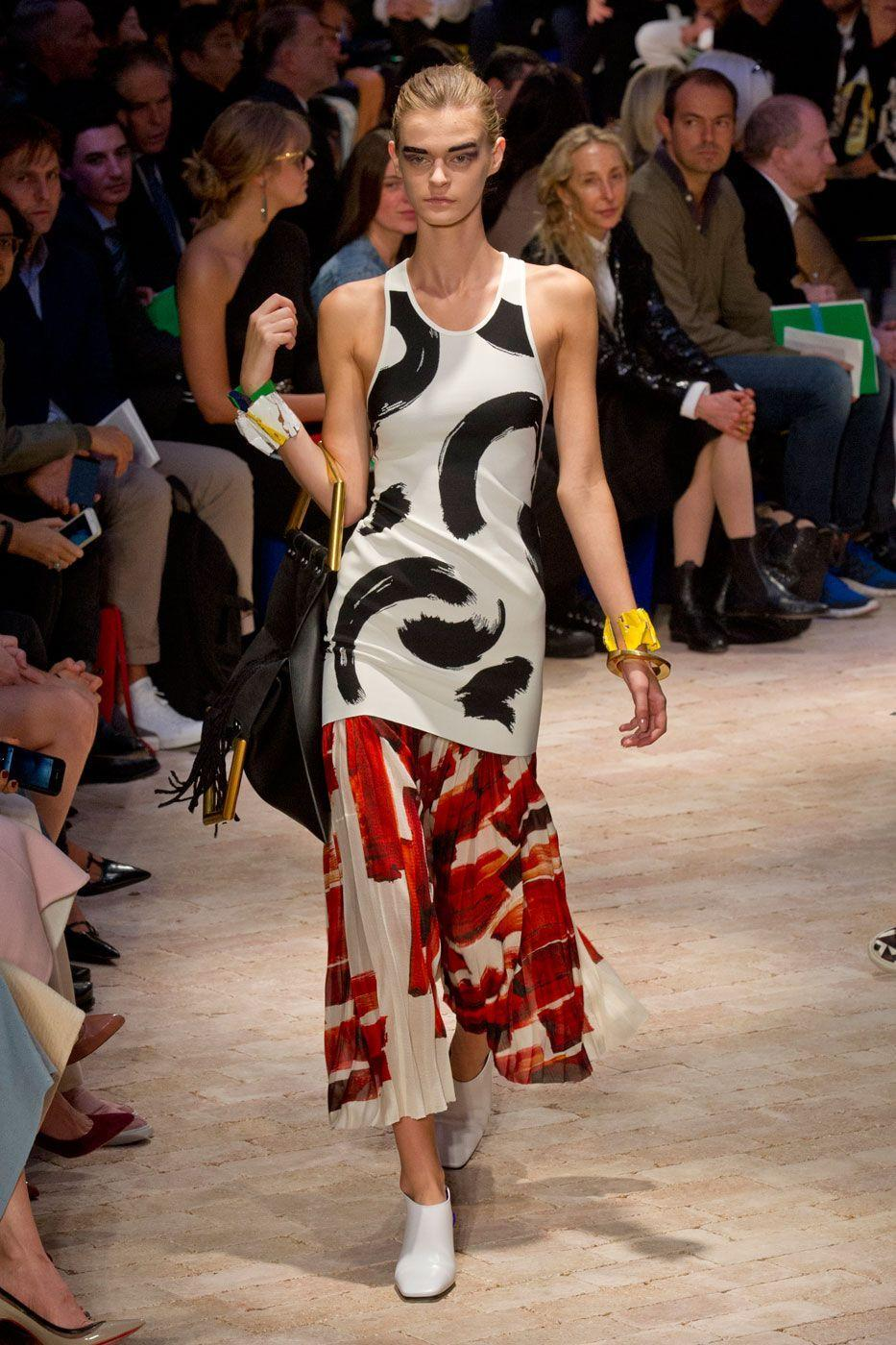 <p>Philo's SS14 collection introduced new energy to the luxury French label.</p><p>'This was such a standout collection; it felt as if Philo really went somewhere, having become known for navy and black,' says Molly Haylor, ELLE UK's market and accessories editor. </p><p>'All of a sudden I wanted to wear back long vests with splashes of colour and pleated skirts. You could open any magazine and the collection stood out compared to the other collections photographed that season.'</p>