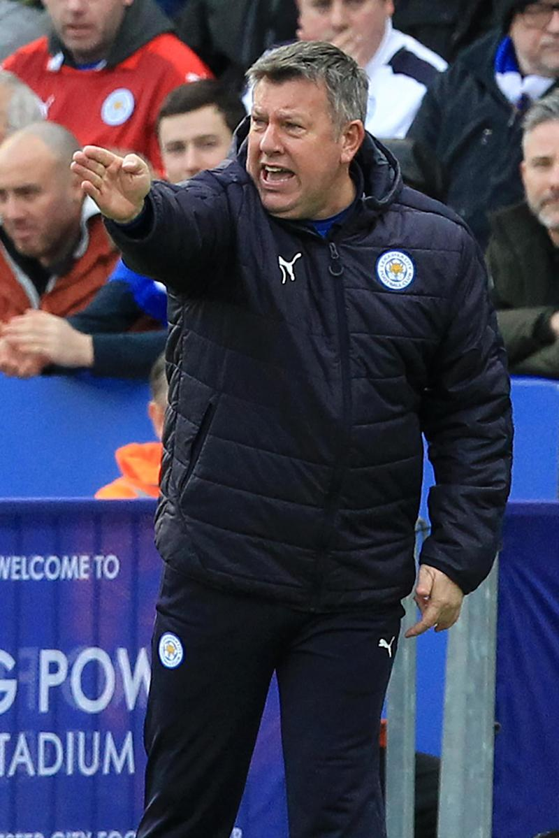 Football - Shakespeare manager of Leicester until end of season