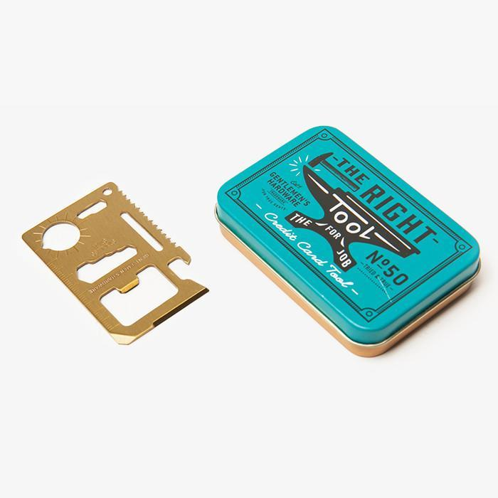 "<p>This credit card-sized jack-of-all-trades is a can and bottle opener, knife edge, screwdriver, ruler, both a position and 2-position wrench, butterfly screw wrench, saw blade, and direction ancillary indication — and it can all fit in Dad's pocket. <b><a href=""http://www.poketo.com/collections/decor/products/credit-card-multi-tool"" rel=""nofollow noopener"" target=""_blank"" data-ylk=""slk:Credit Card Multi Tool"" class=""link rapid-noclick-resp"">Credit Card Multi Tool</a> ($18)</b></p>"