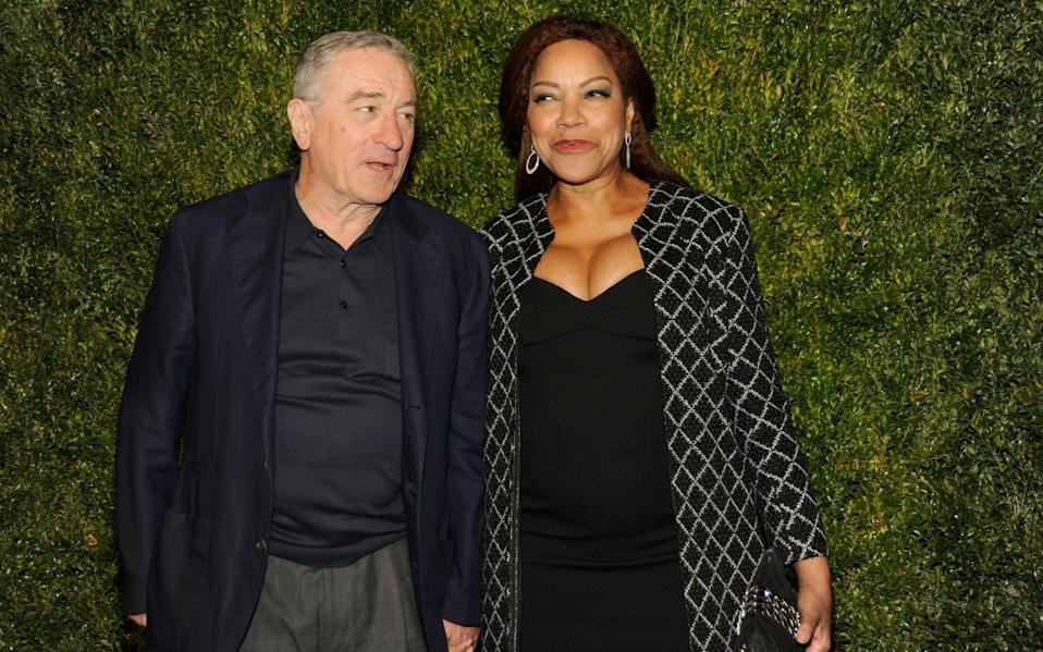 Robert De Niro and Grace Hightower