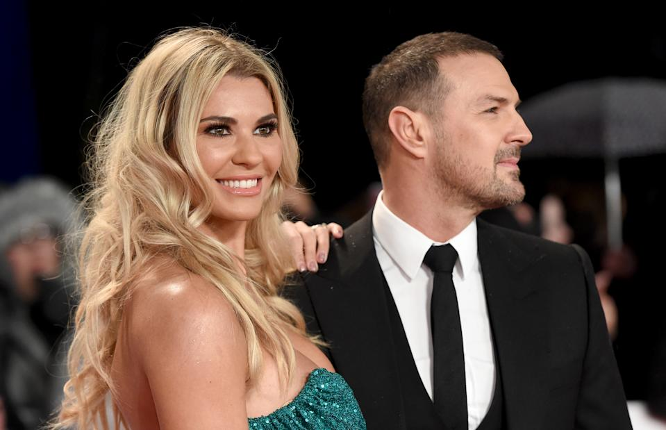 LONDON, ENGLAND - JANUARY 22:  Christine Martin and Paddy McGuinness attend the National Television Awards held at the O2 Arena on January 22, 2019 in London, England. (Photo by Stuart C. Wilson/Getty Images)